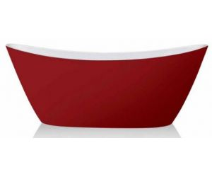 Cazi stative Cada Freestanding COSMO 1781 red/white/black 170x81x68 cm